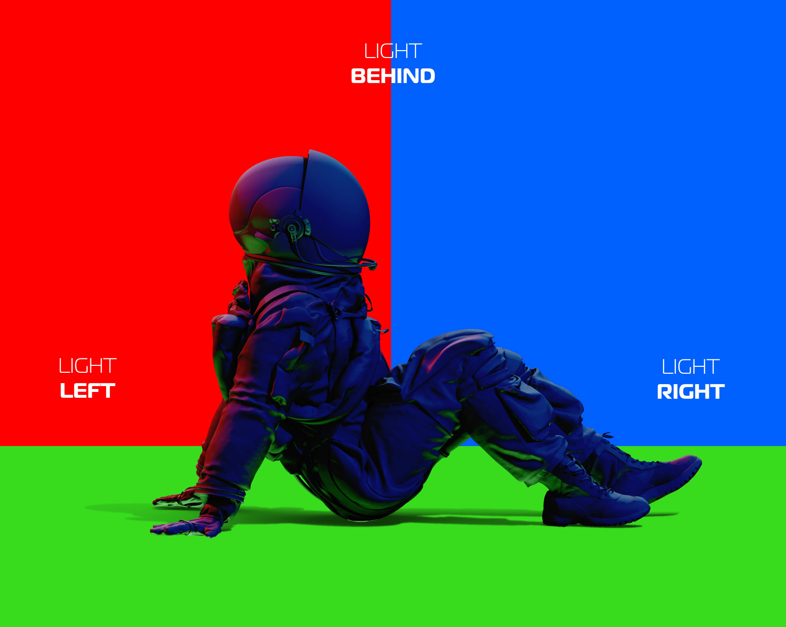 PSD Mockup 3D model NASA Astronaut #41