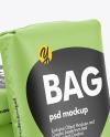 Polypropylene Bags Mockup