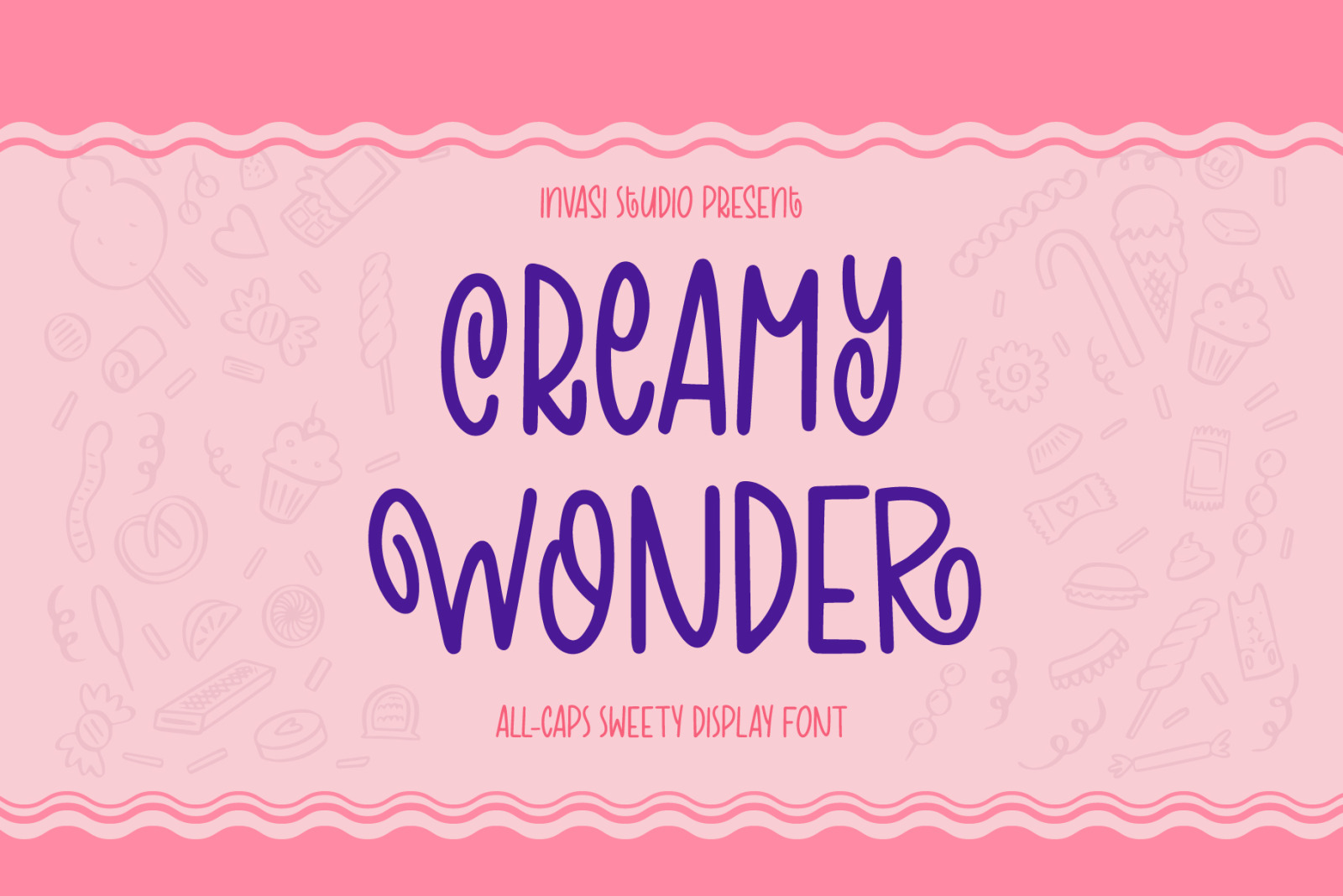 Creamy Wonder | Display Font