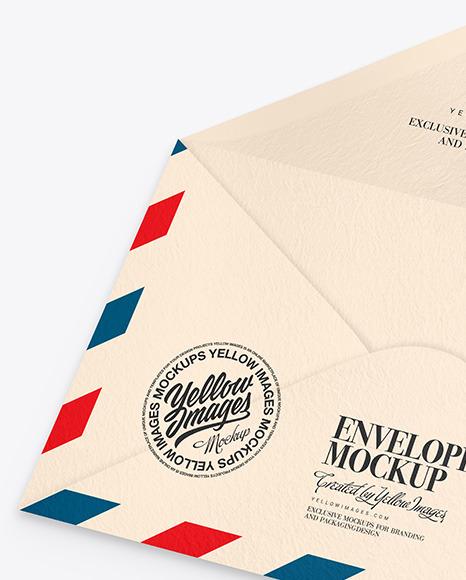 Textured Envelope Mockup