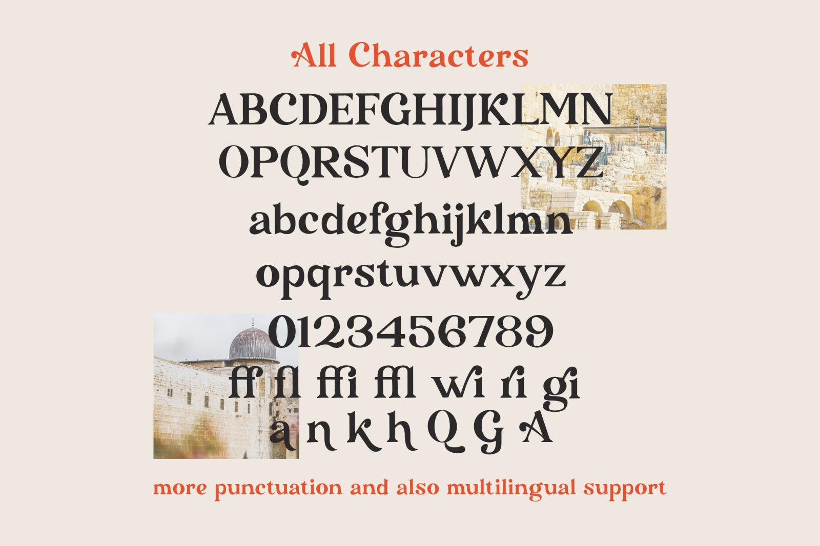 Gensino - Display Serif Typeface