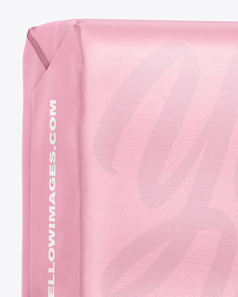 Paper Soap Bar Package Mockup