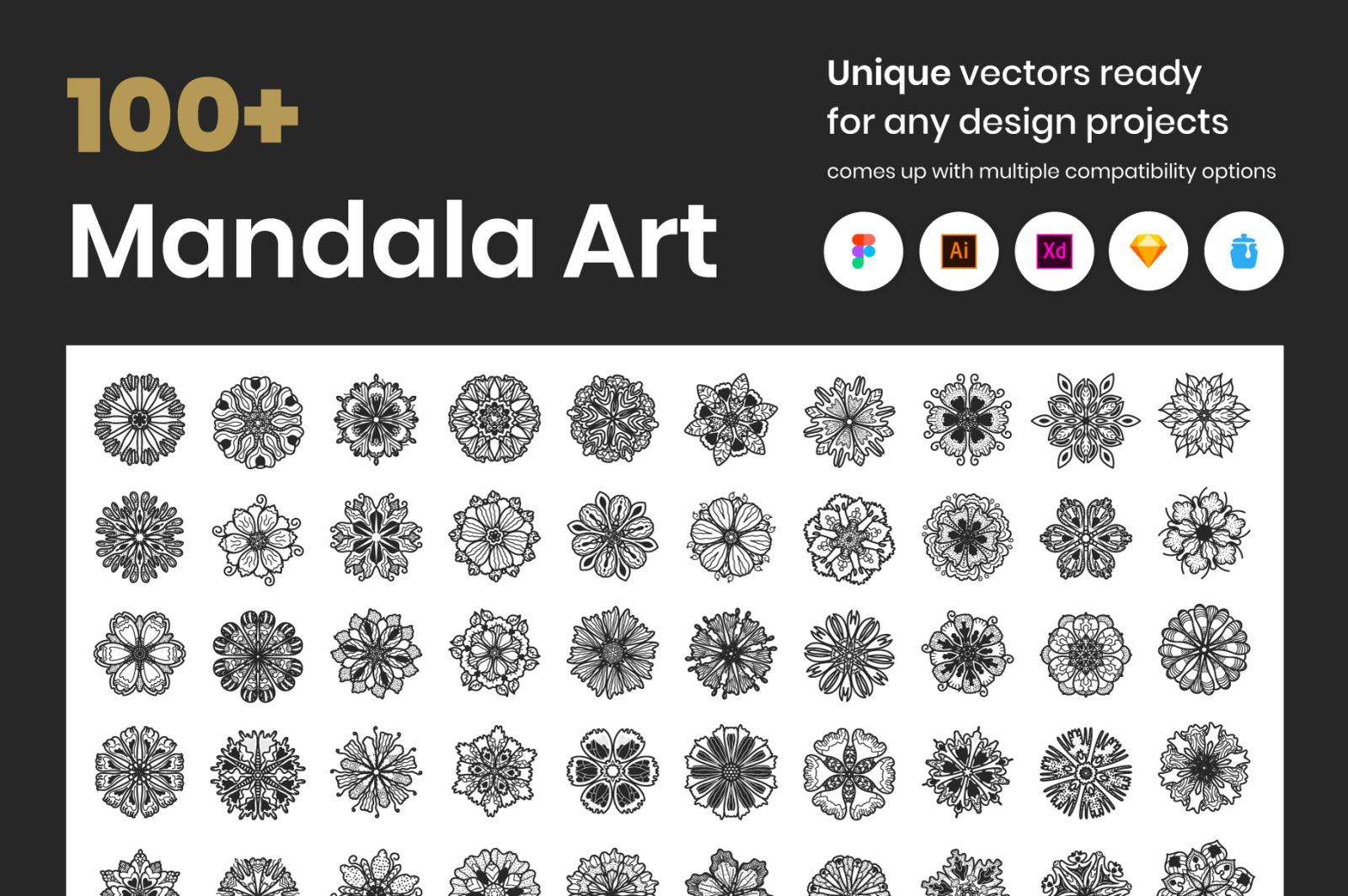 100+ Mandala Art