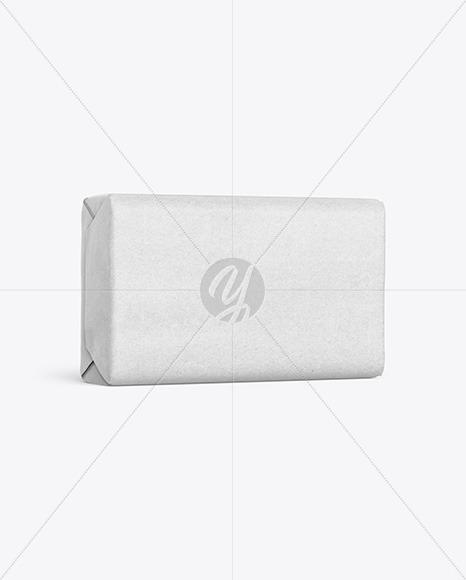 Kraft Paper Soap Bar Package Mockup