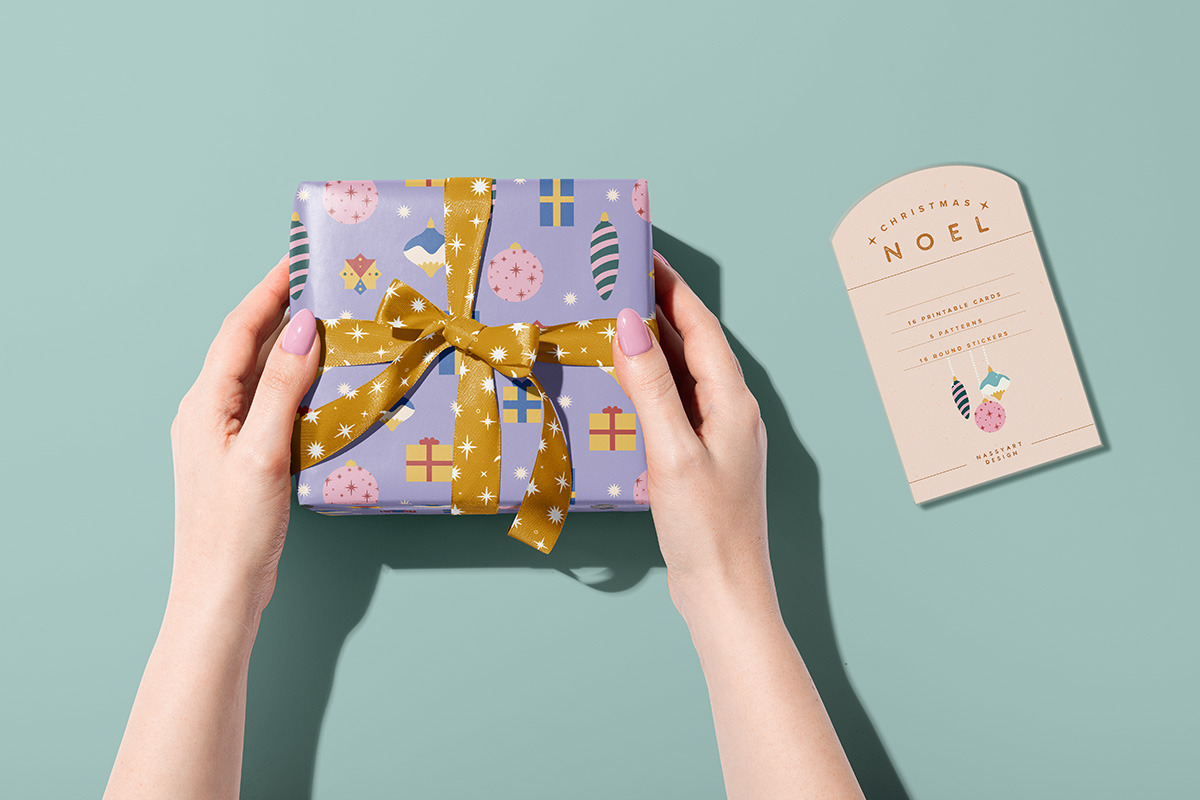 Noel Christmas Greeting Cards