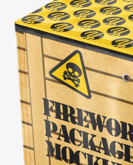 Fireworks Packaging Mockup