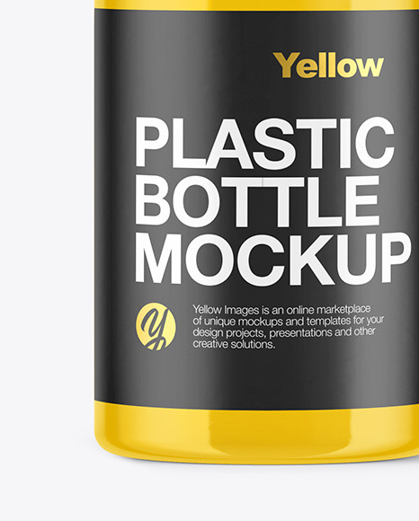 Glossy Liquid Soap Bottle Mockup