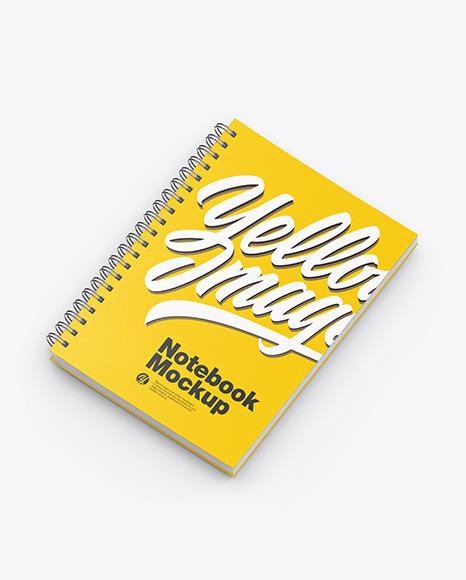 Paper Notebook Mockup