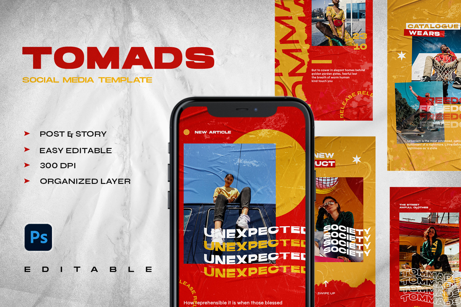 Tomads - Instagram Stories & Post