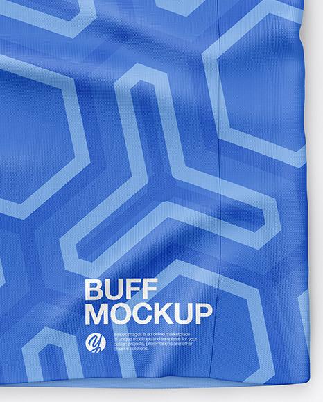 Unfolded Buff Mockup