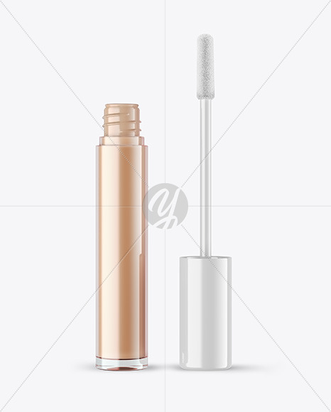 Opened Lipstick Tube Mockup