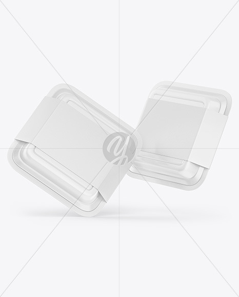 Download Two Food Containers Mockup Free Mockups