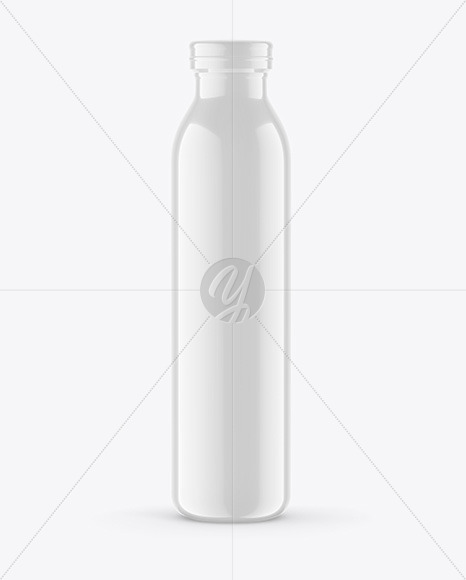 Glossy Thermo Bottle Mockup