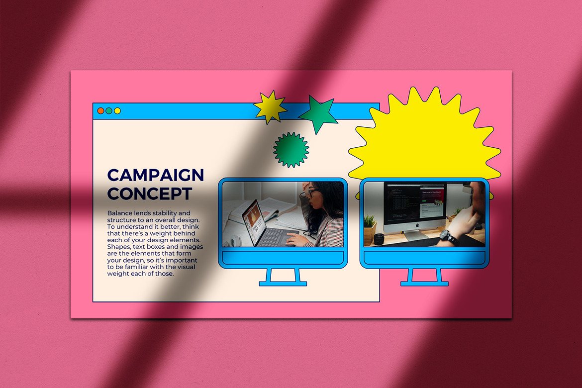 Virtual Campaign Google Slide Presentation