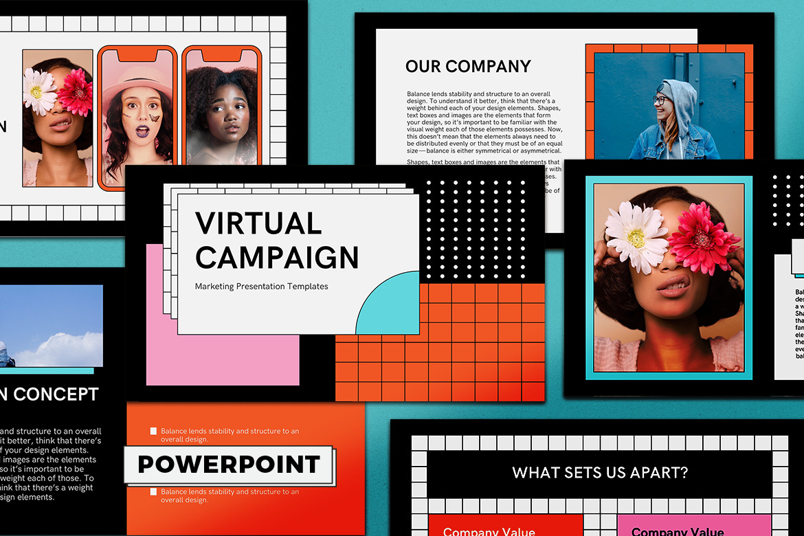 Virtual Campaign PowerPoint Presentation