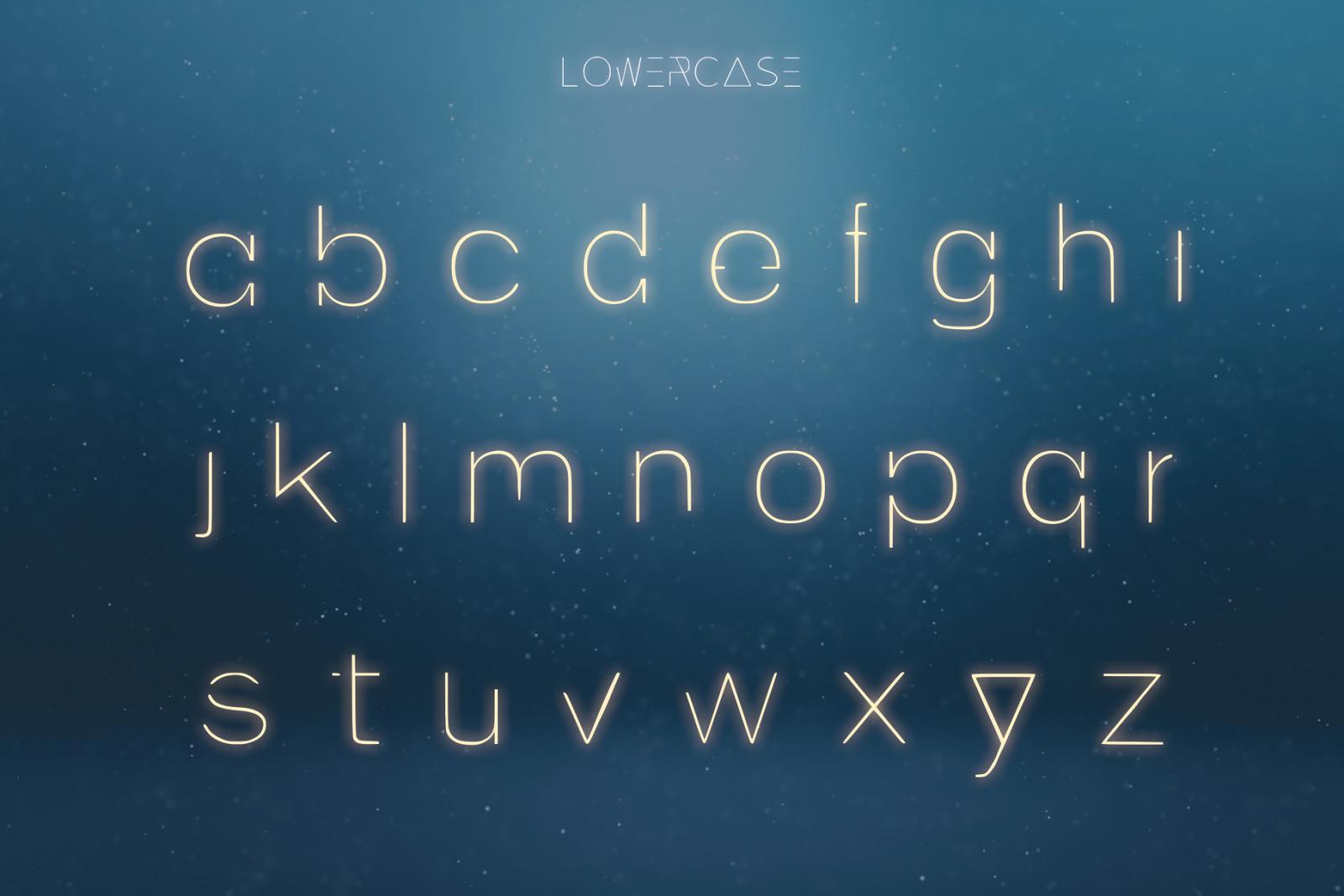 EXOPLANET - A Futuristic Typeface