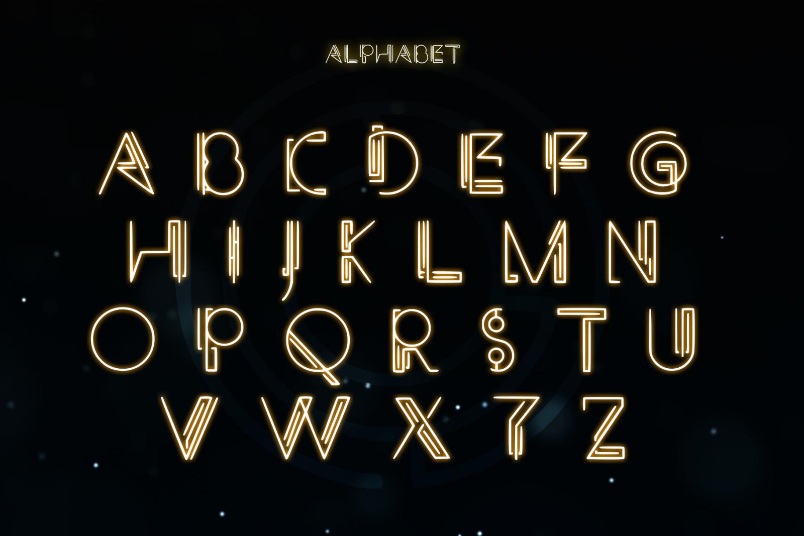 MAZE - A Technical Typeface
