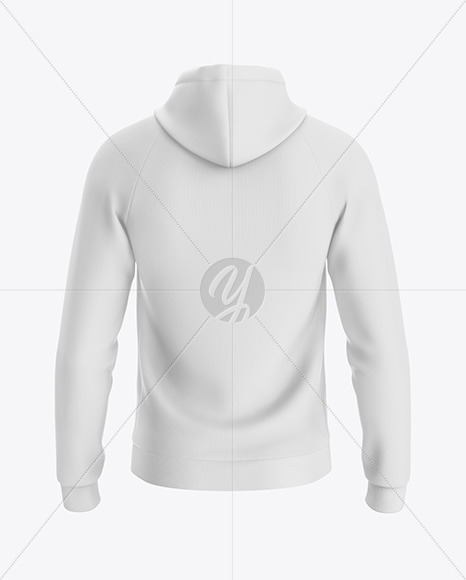 Download Hoodie Mockup Back View In Apparel Mockups On Yellow Images Object Mockups
