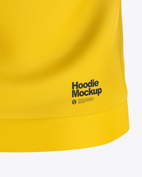 Hoodie Mockup - Back View