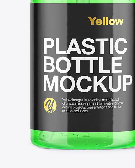 Colored Liquid Soap Bottle Mockup