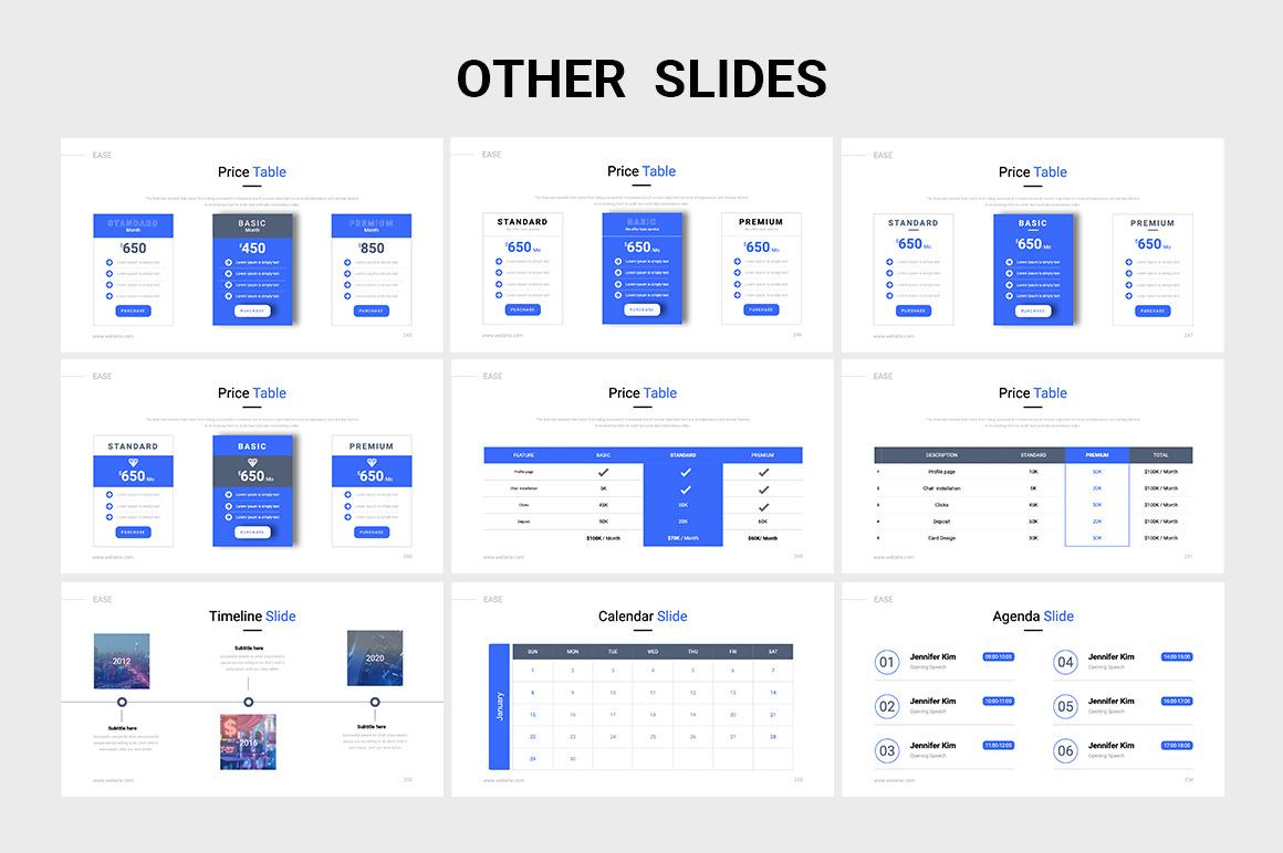 EASE Animated Multipurpose Keynote Presentation Template