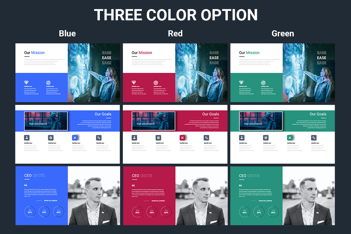 EASE Animated Multipurpose Powerpoint Presentation Template