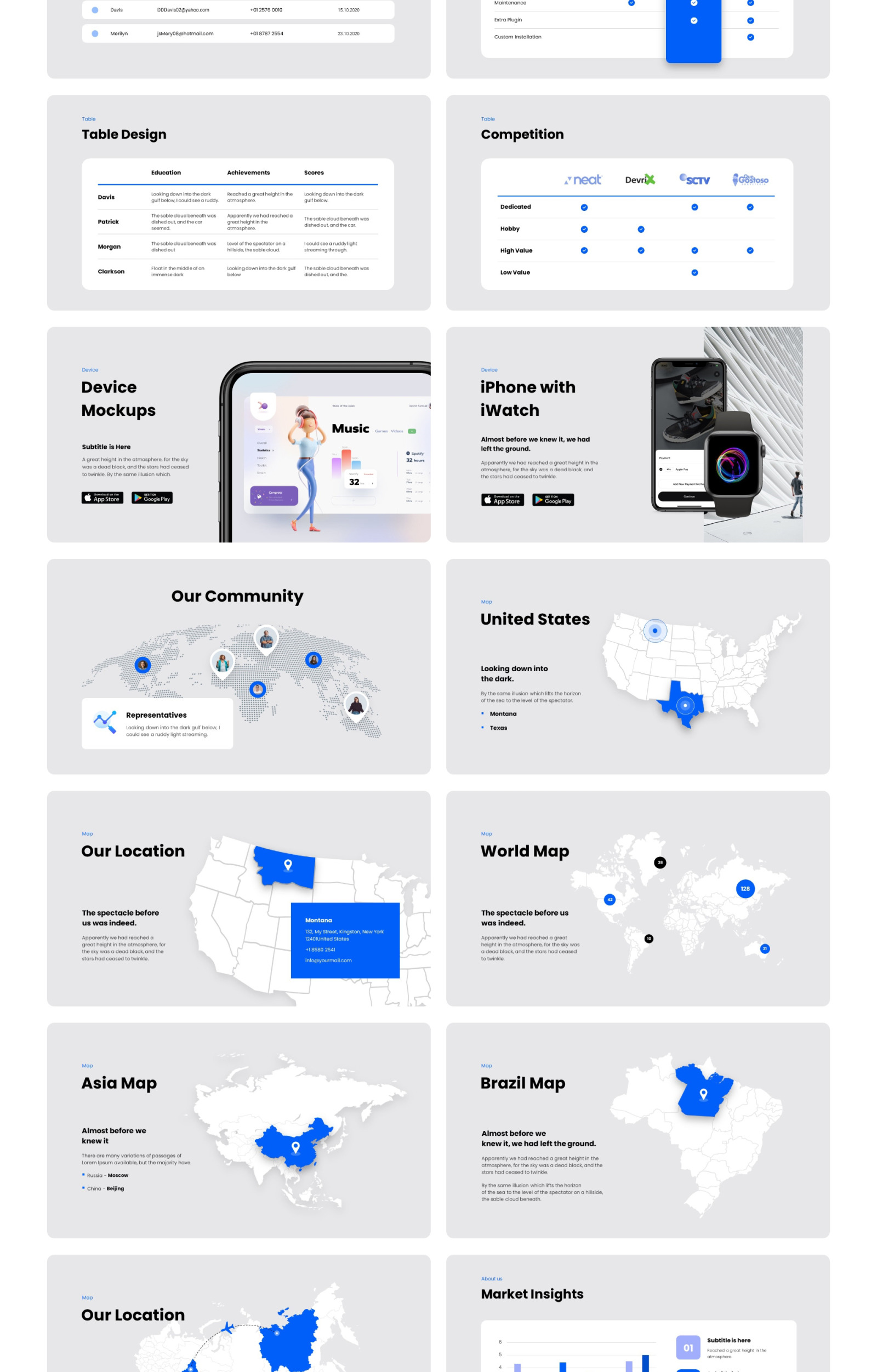Startup Boost - Smooth Animated Google Slide Template