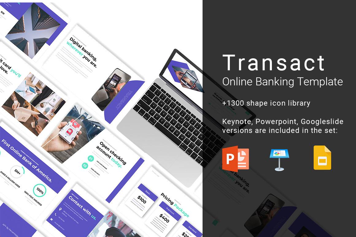 TRANSACT Online Banking Presentation Template
