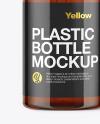 Amber Liquid Soap Bottle Mockup