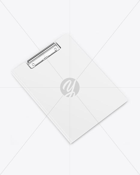 Clipboard Folder Mockup