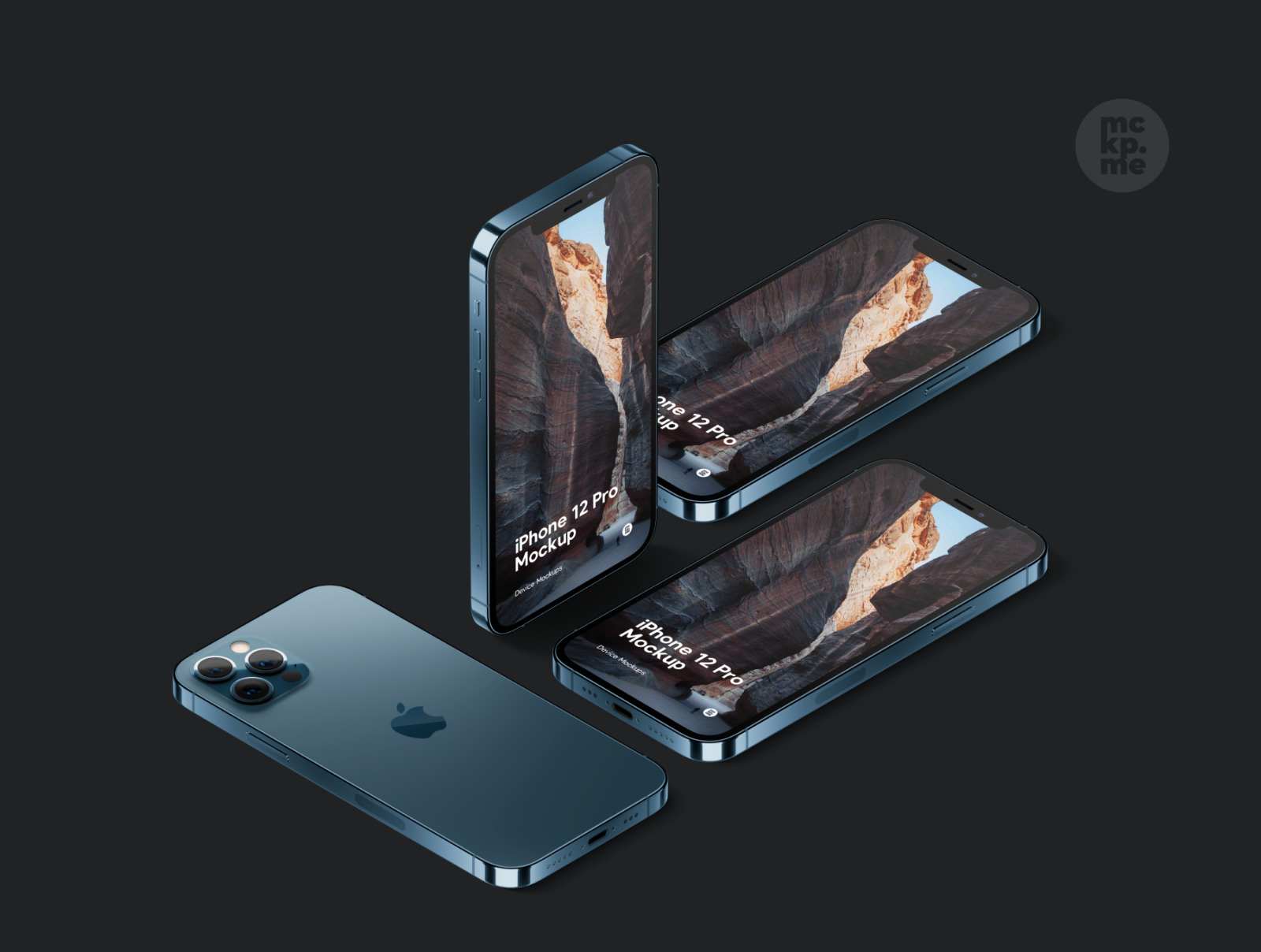 iPhone 12 Pro Isometric Pack