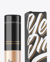Lipstick Tube with Box Mockup