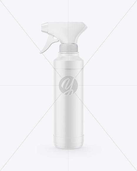 Trigger Spray Bottle Mockup
