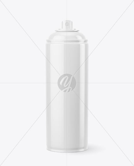 Spray Paint Mockup