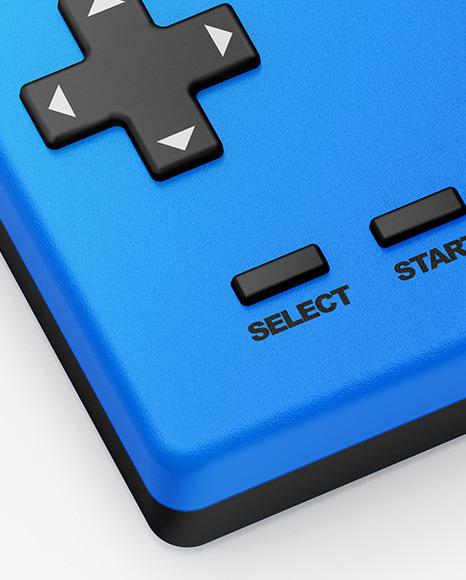 Handheld Game Machine Mockup