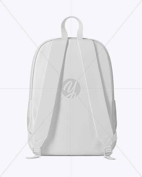 Backpack Mockup - Back View