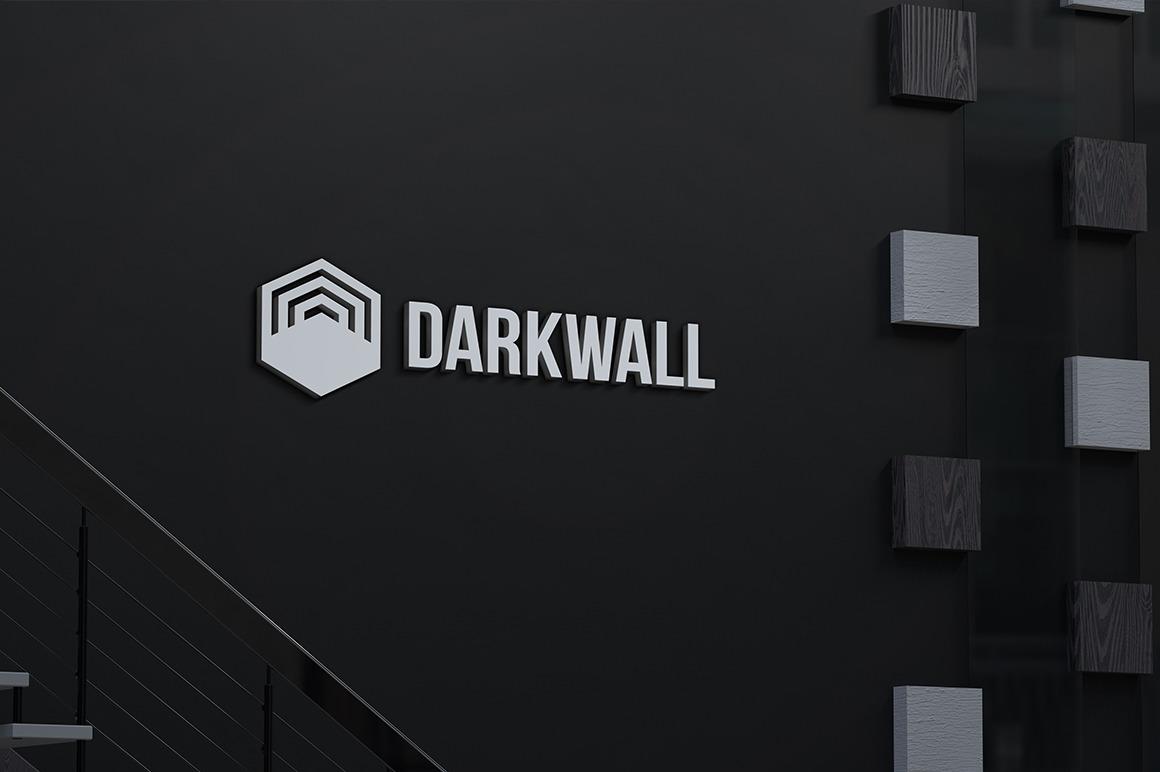 Dark Wall Logo Mockups