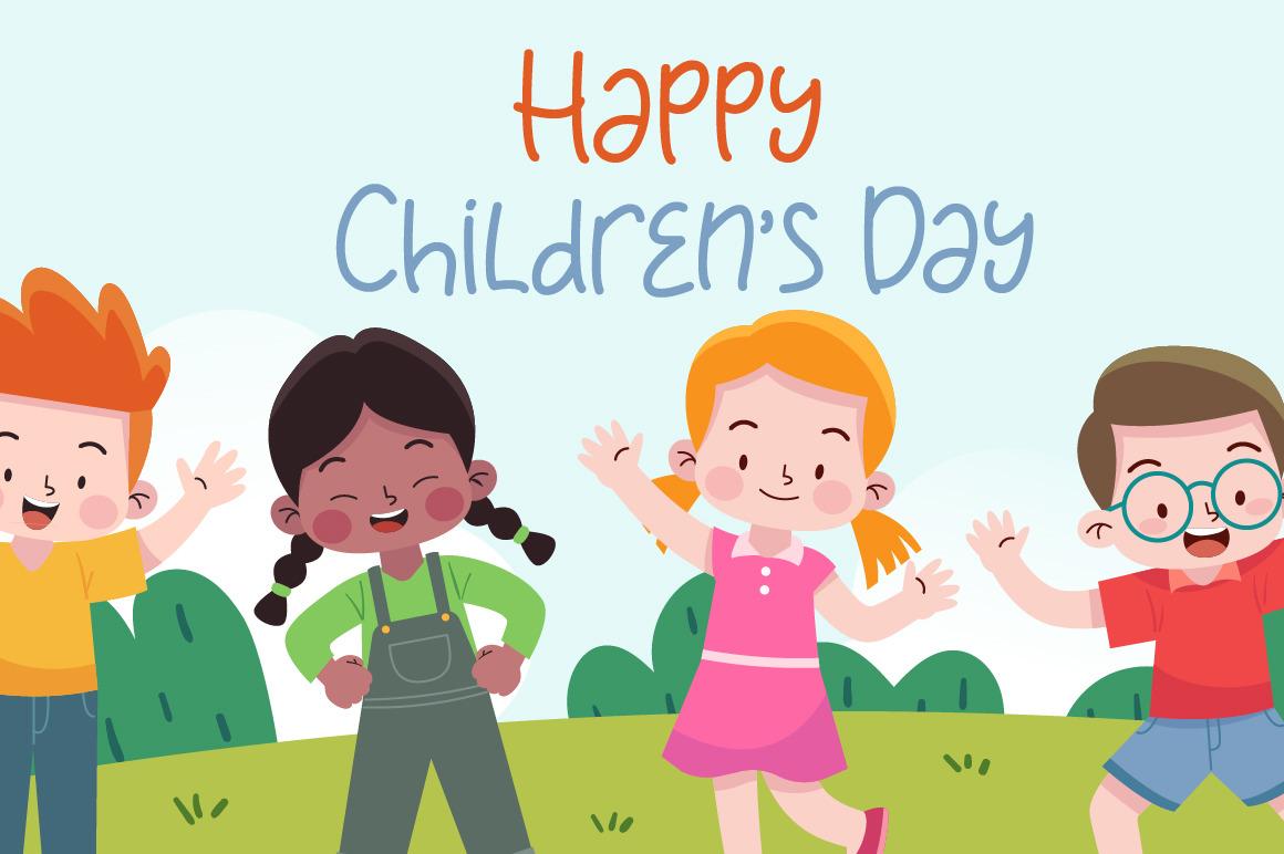 Child Happy Font