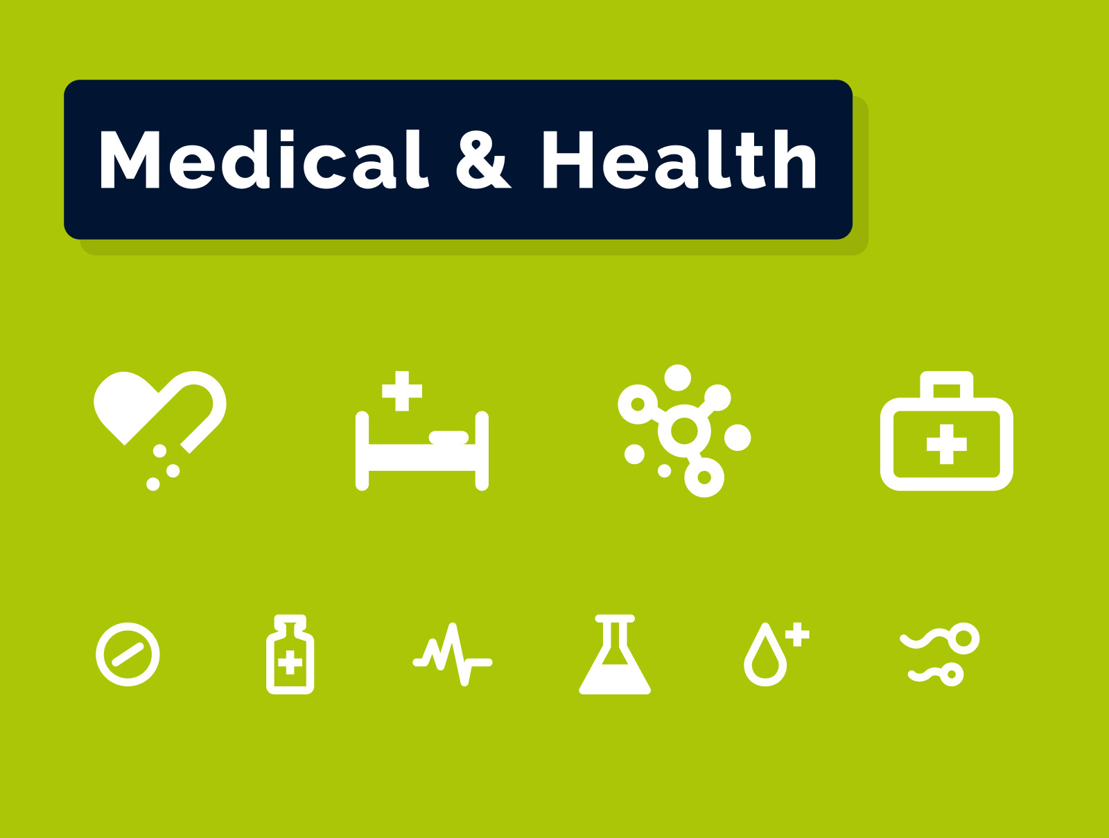 Medical & Health Icons Set