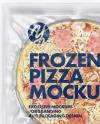 Plastic Transparent Vacuum Bag W/ Frozen Pizza Mockup