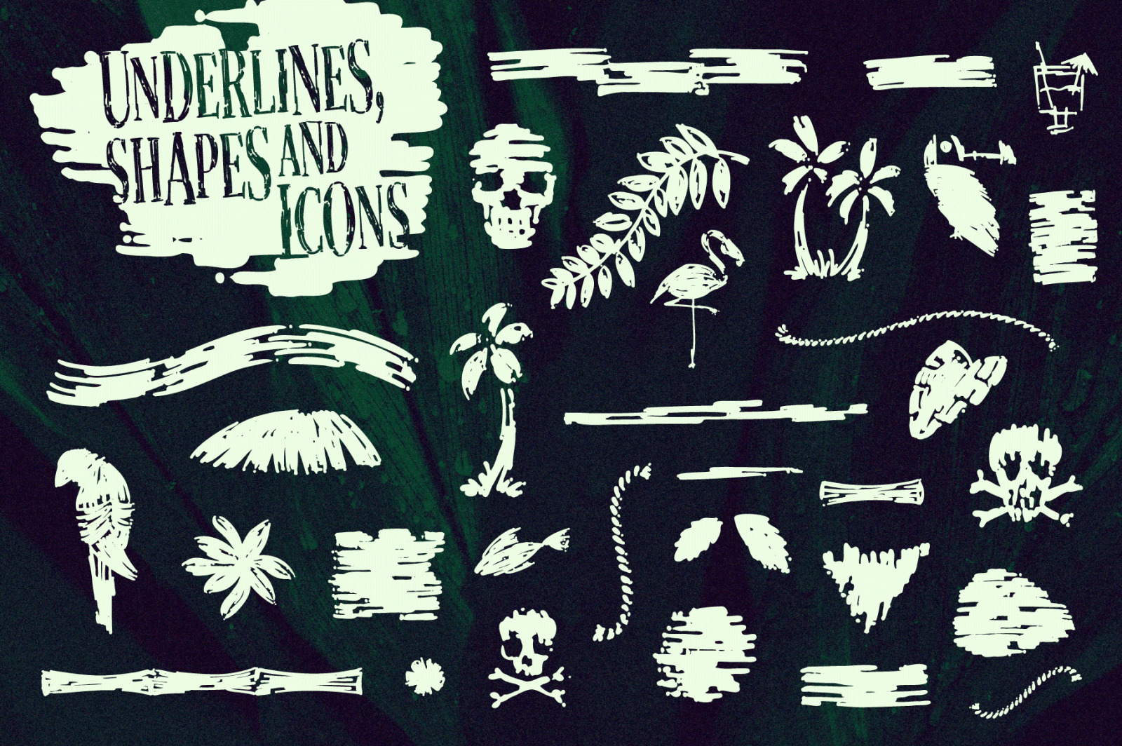 The Phantom Isles: Retro Tiki Font
