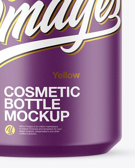 Matte Cosmetic Spray Bottle Mockup