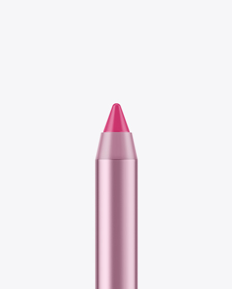 Lipstick Pencil Mockup