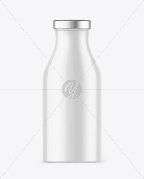 Glossy Juice Bottle Mockup