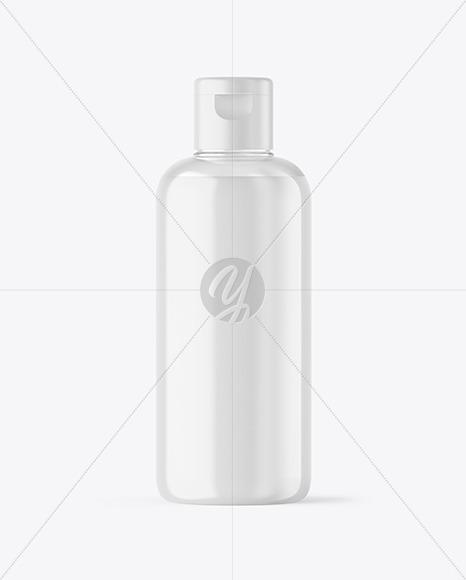 Clear Liquid Soap Bottle Mockup