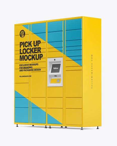 Pick Up Locker Mockup