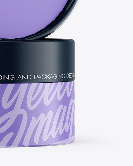 Two Matte Cosmetic Jars Mockup