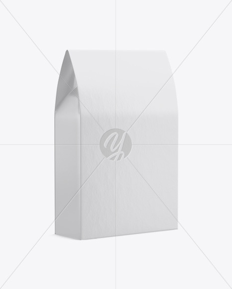 Paper Bag with a Window Mockup