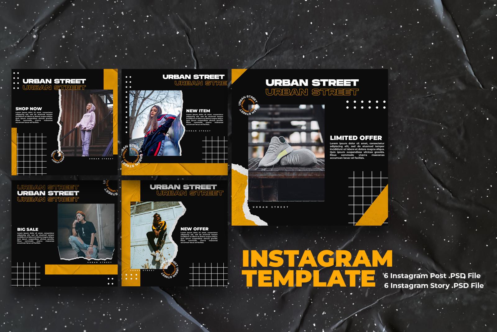 Urban Street - Instagram Template