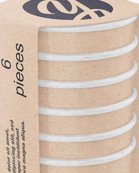 Kraft Paper Cups Mockup